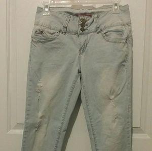 Women  Skinny jeans ripped